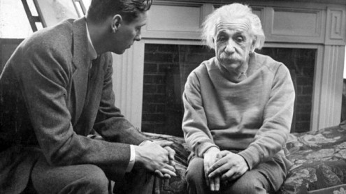 """""""A person who never made a mistake never tried anything new."""" --- Albert Einstein"""